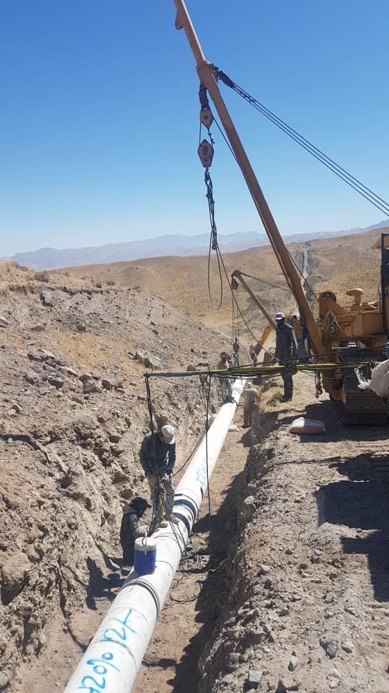 طرح انتقال آب از چشمه هفتیان به شهر تفرش و روستاهای مسیر